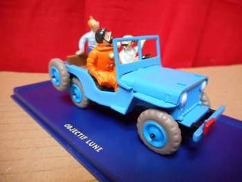 Atlas Kuifje / Tintin 001 Willys Jeep