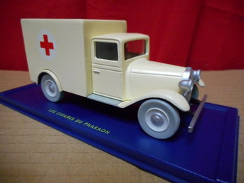 Atlas Kuifje / Tintin 056 Ambulance