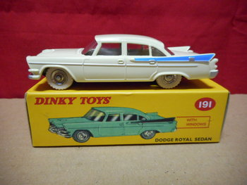 Dinky Atlas 191 Dodge Royal Sedan