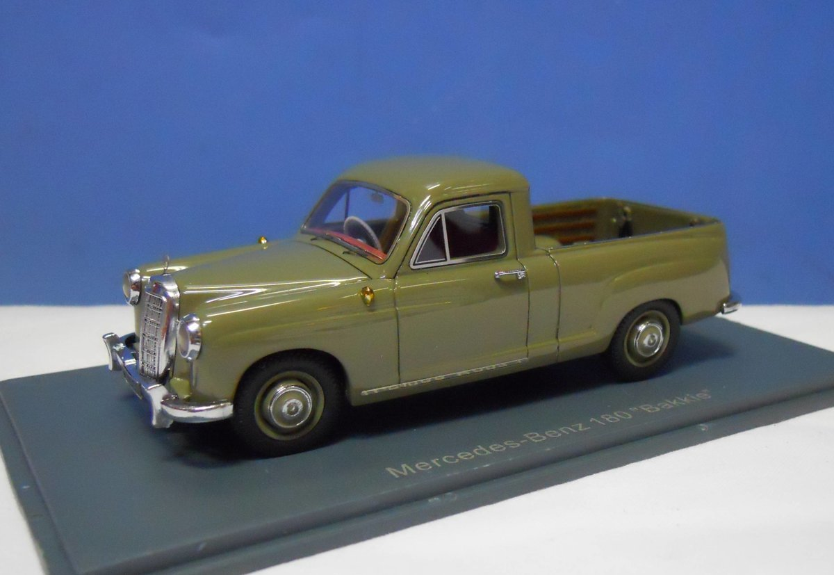 Rv Mercedes >> Neo Scale 45480 Mercedes Benz 180 'Bakkie'